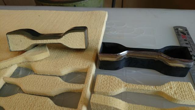 アラミド繊維用試験片打抜刃
