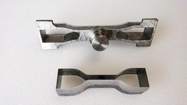 JIS K6251-5号抜刃、JIS K7161-2-1B試験片抜き刃